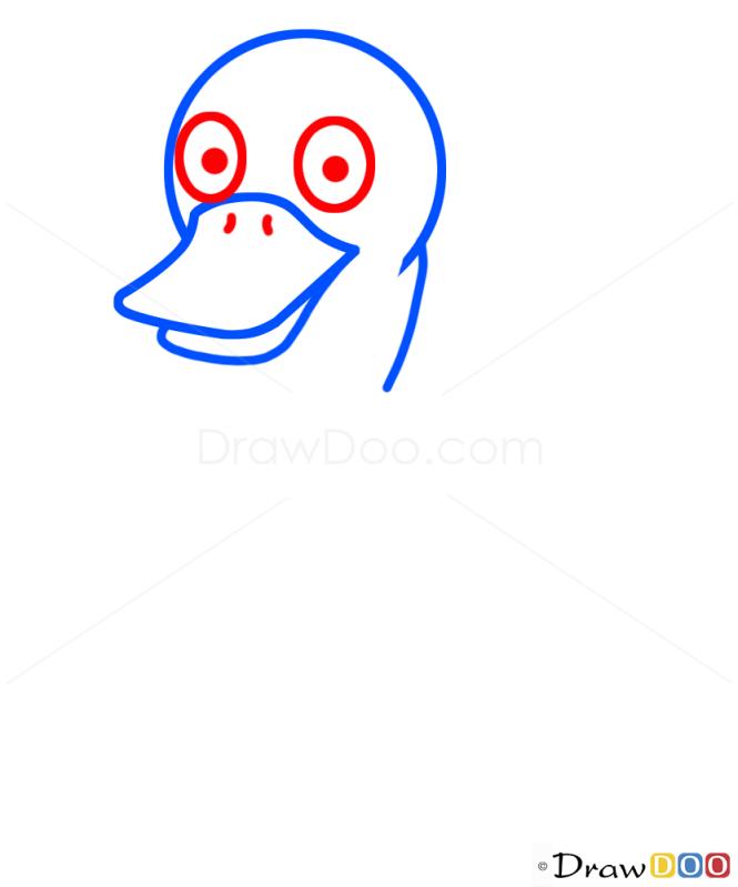 How to Draw Duck, Kids Draw