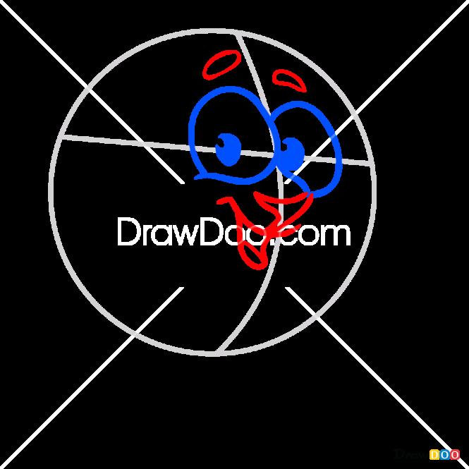 How to Draw Barash, Kikoriki