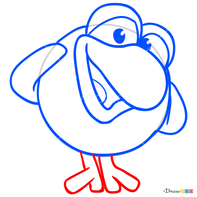 How to Draw Kar Karych, Kikoriki
