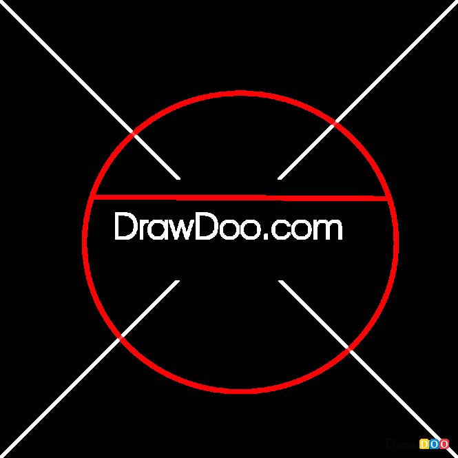How to Draw Dj Robkiy, Kikoriki