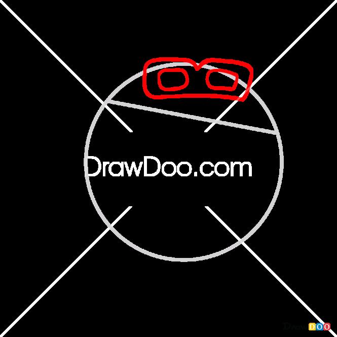 How to Draw Pin, Kikoriki