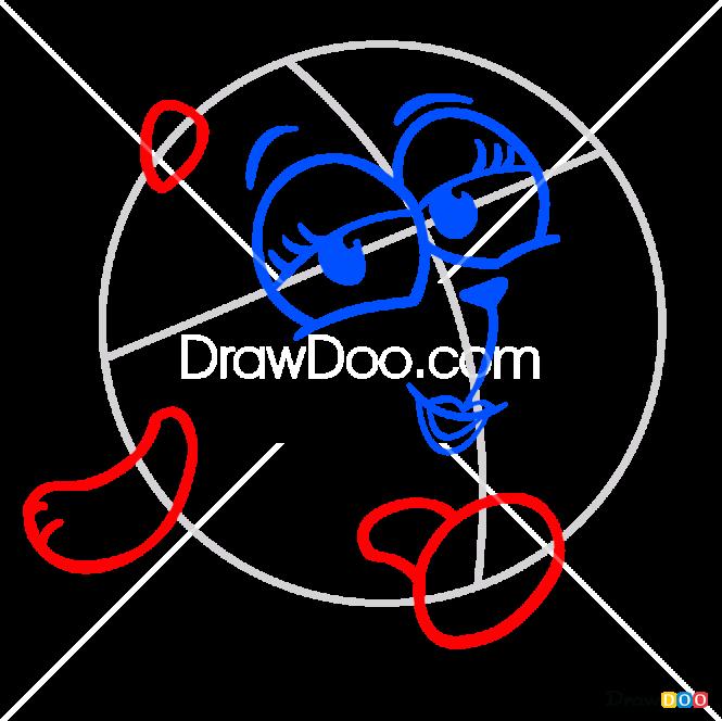 How to Draw Tigriciya, Kikoriki