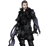 How to Draw Nyx Urlic, Kingsglaive Final Fantasy XV