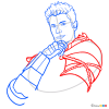 How to Draw Tredd, Kingsglaive Final Fantasy XV