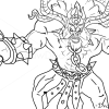 How to Draw Alistar, League of Legends