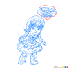 How to Draw Annie, League of Legends