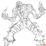 How to Draw Brand, League of Legends