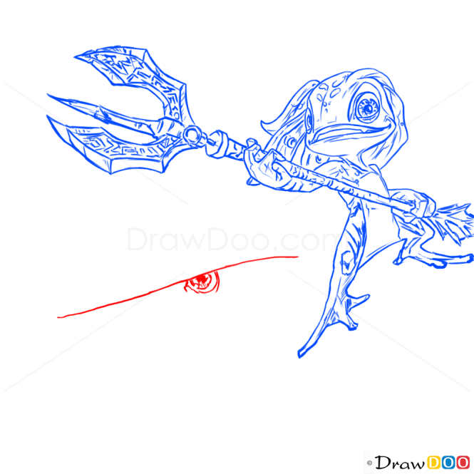 How to Draw Fizz, League of Legends
