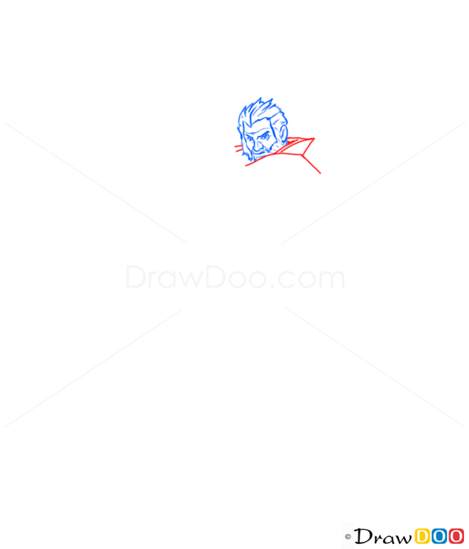 How to Draw Graves, League of Legends