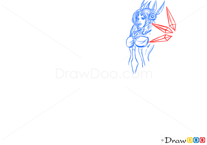 How to Draw Leona, League of Legends