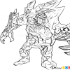 How to Draw Malphite, League of Legends