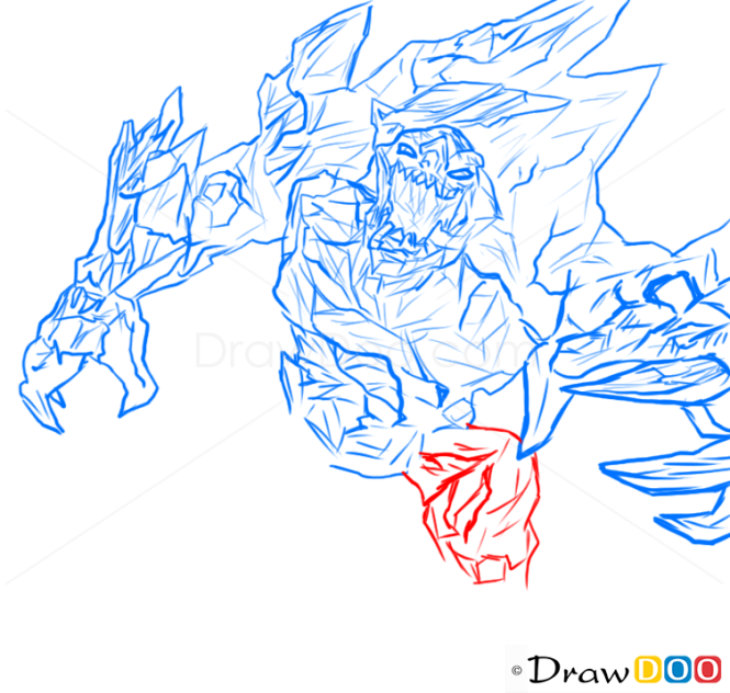 How To Draw Malphite League Of Legends