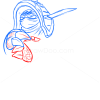How to Draw Rammus, League of Legends
