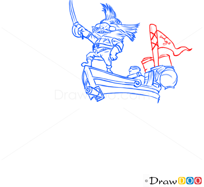 How to Draw Rumble, League of Legends