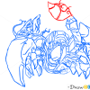 How to Draw Skarner, League of Legends