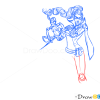 How to Draw Vayne, League of Legends