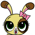 How to Draw Buttercream Sunday, Littlest Pet Shop