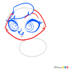 How to Draw Madame Pom, Littlest Pet Shop