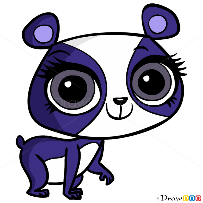 How to Draw Penny Ling, Littlest Pet Shop