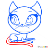 How to Draw Scout Kerry, Littlest Pet Shop