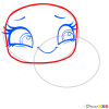 How to Draw Olive Shellstein, Littlest Pet Shop