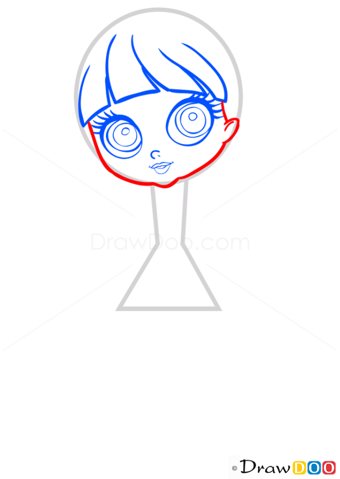 How to Draw Blythe Baxter, Littlest Pet Shop