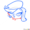 How to Draw Zoe Trent, Littlest Pet Shop