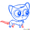 How to Draw Captain Cuddles, Littlest Pet Shop