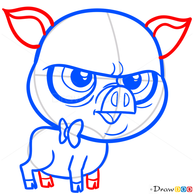 How to Draw Mary Frances, Littlest Pet Shop