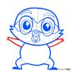 How to Draw Otto von Fuzzlebutt, Littlest Pet Shop