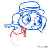 How to Draw Phileppe, Littlest Pet Shop