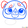 How to Draw Pug, Littlest Pet Shop