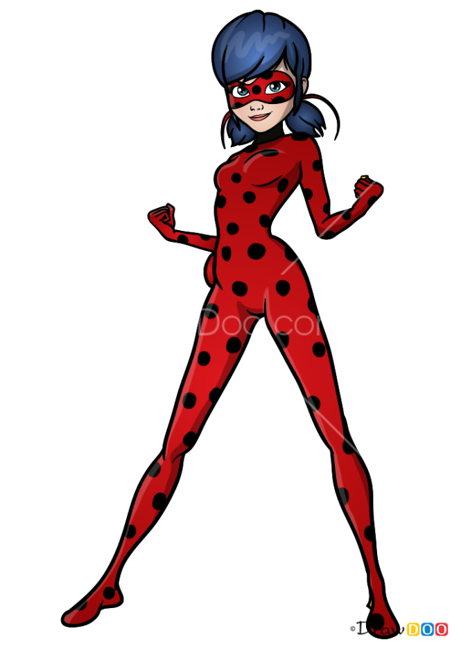How to Draw Ladybug, Ladybug and Cat Noir
