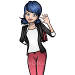 How to Draw Marinette, Ladybug and Cat Noir