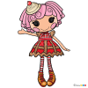 How to Draw Cherry Crisp Crust, Lalaloopsy
