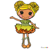 How to Draw Mari Golden, Lalaloopsy