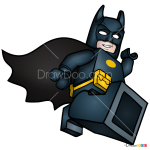 How to Draw Batman, Lego Batman Movie