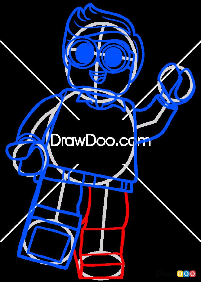 How to Draw Dick, Lego Batman Movie