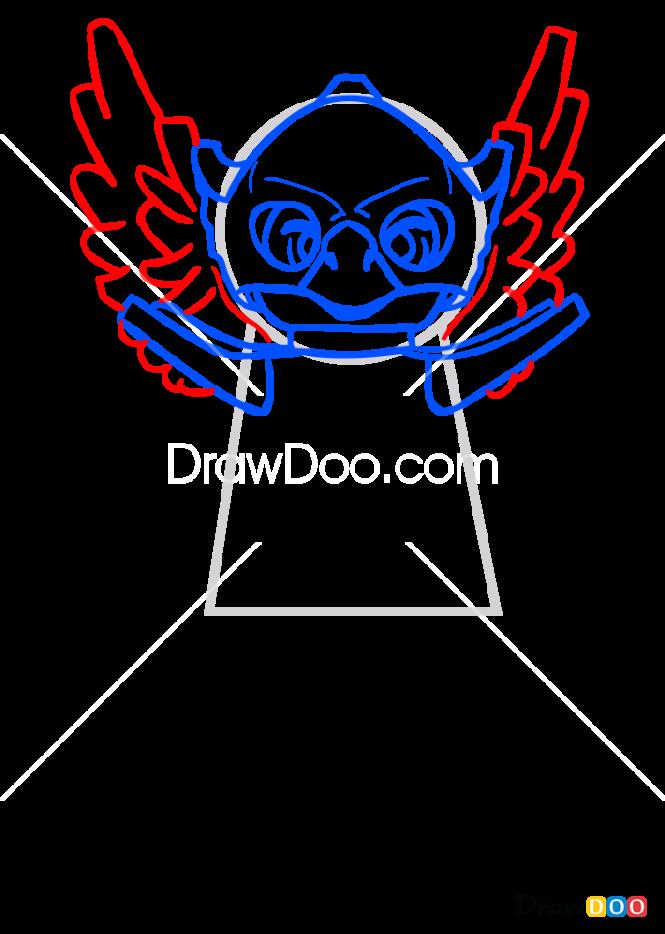 How to Draw Ewar, Lego Chima