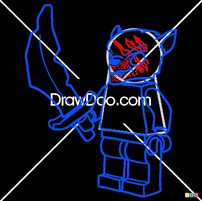 How to Draw Winzar, Lego Chima