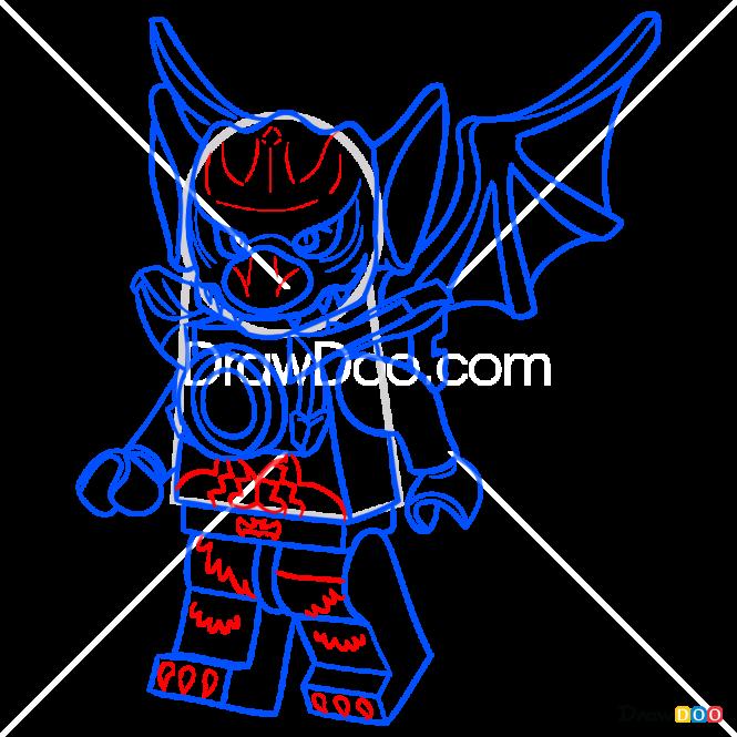 How to Draw Blista, Lego Chima