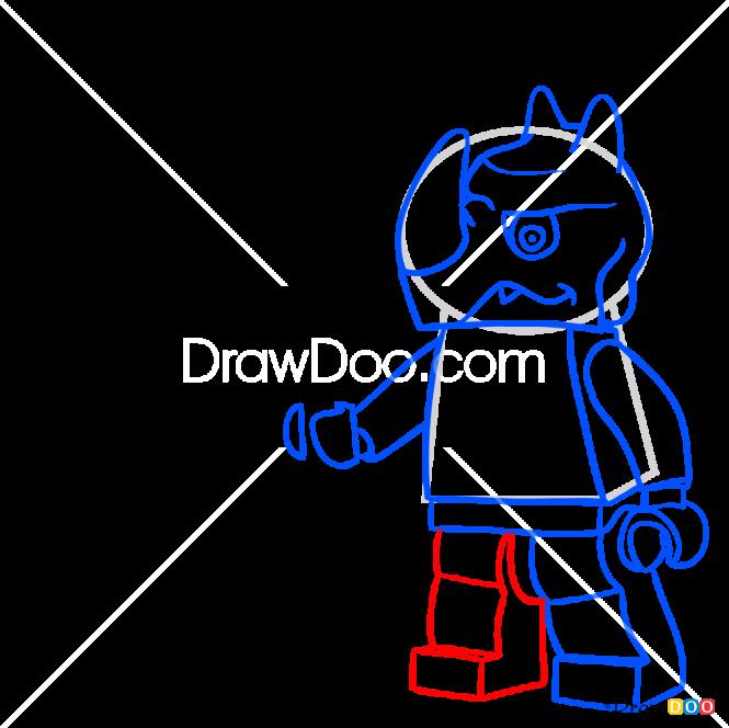 How to Draw Rinona, Lego Chima