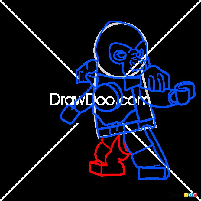How to Draw Gordo, Lego Chima