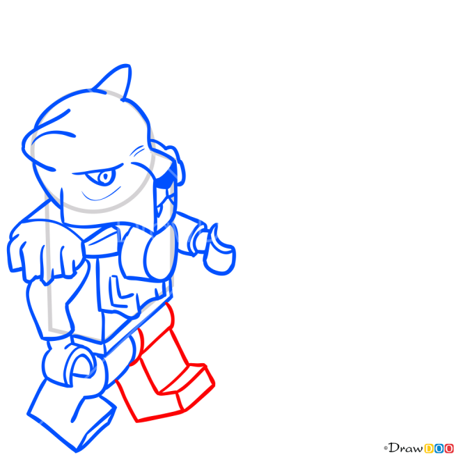 How to Draw Lundor, Lego Chima