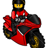 How to Draw City Racing Bike, Lego City