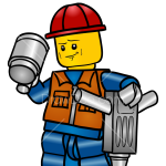 How to Draw Demolition Worker, Lego City