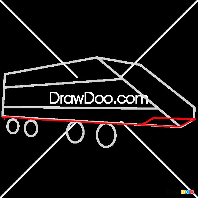 How to Draw Horizon Express, Lego City