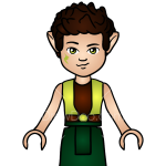 How to Draw Farran the Earth Elf, Lego Elves