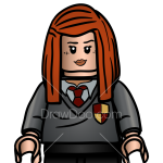 How to Draw Ginevra Weasley, Lego Harry Potter
