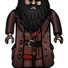 How to Draw Hagrid, Lego Harry Potter